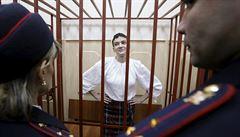 Vězněnou Ukrajinku Savčenkovou převezli do moskevské nemocnice