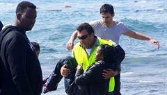 Řekové zadrželi za víkend přes 850 migrantů, nejvíce na ostrově Lesbos