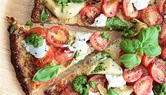 Pizza bez mouky? Překvapivě dobrá z květáku