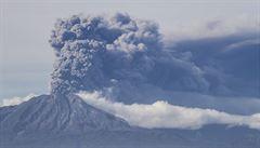 Vědci pomocí dronů monitorovali erupci vulkánů v Guatemale