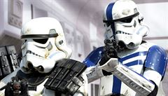 Prahou prošel průvod Star Wars. Nechyběli ani rytíři jedi