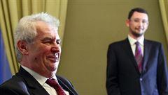 Nadbytečné, trapné i rozumné, komentují politici spor Zemana s Řeckem
