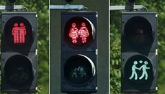 Homosexuálové na semaforech. Kolín nad Rýnem nově osvětlí trasu průvodu hrdosti
