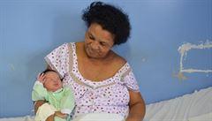 Brazilka v 51 letech porodila své jednadvacáté dítě