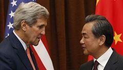 Kerry jedná v Číně o spolupráci a chce řešit spory na Jihočínském moři