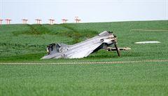 V Čáslavi havaroval maďarský gripen, piloti se katapultovali