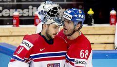 Kanada rozcupovala sen o zlatu. Čeští hokejisté budou hrát na MS o bronz