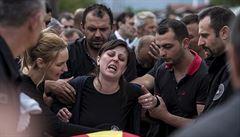 Dvoudenní krvavá bitva v Makedonii. Policisté umírali v boji s teroristy