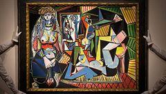 Picasso za 3,5 miliardy. Slavné plátno Alžírská žena jde do aukce