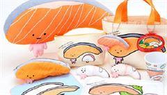 Proti hamburgerům bojuje v Japonsku kreslená postavička. Propaguje ryby