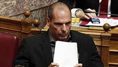 Řecký ministr financí přirovnal požadavky věřitelů k mučení CIA