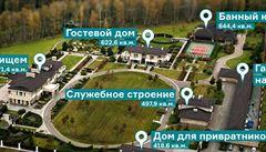 Obluda Jakunin, copak se jich nezbavíme, napsal Navalnyj a ukázal jeho sídlo
