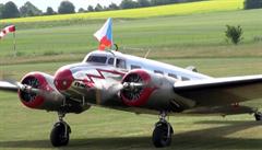 Baťovo letadlo se po 70 letech vrátilo z Ameriky do Čech