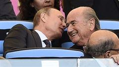 Rusku jsem mistrovství světa slíbil. Bez ohledu na volby, šokuje Blatter