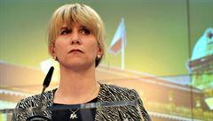 Zeman příští středu jmenuje Kateřinu Valachovou ministryní školství