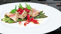 Ryba na grilu. Jak připravit perfektního tuňáka, poradí Roman Paulus