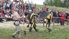 Středověký souboj na Bitvě národů. Češi se porvali s Moldavci