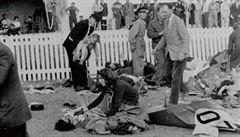 Největší masakr v dějinách automobilových závodů. V Le Mans 1955 zahynulo 83 lidí