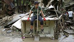 V Tbilisi postiženém záplavami našli už 19 mrtvých. Šest lidí pohřešují