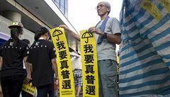 Hongkong rozhoduje: svobodu volby, nebo obojek utažený Pekingem?
