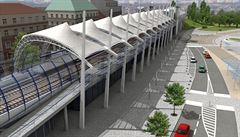 Trať na letiště: vlaky prosviští Stromovku, tunelem pojedou do Dejvic