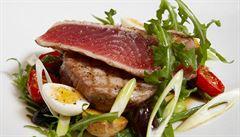 S tuňákem se musí něžně, říká kuchař, který spojuje Andalusii s Japonskem