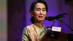 Su Ťij má Nobelovu cenu míru, ale prezidentkou Barmy se stát nemůže