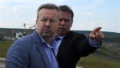 Prolomení těžebních limitů na Mostecku je krajní varianta, říká ministr Brabec