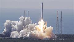 Start lodě Dragon k ISS: Explodovala nosná raketa, po 2 minutách
