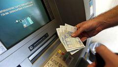 Řecké banky potřebují k rekapitalizaci míň, než se čekalo