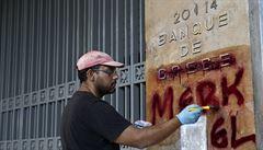Řecko se dál nemůže vymanit z krize: bez práce je každý čtvrtý, čeká se pád HDP