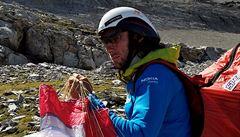 Paraglidista chce přeletět bývalé Československo: Třeba přistanu u samoobsluhy