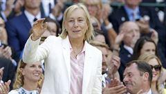 Český tenis je ve fantastické pozici, raduje se ze svých nástupců Navrátilová