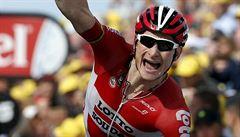 Etapu plnou větru, deště a chaosu vyhrál Greipel. Tour vede Cancellara