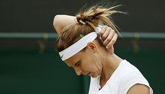 Šafářová ve Wimbledonu končí. S Vandeweghovou nezvládla dva tie-breaky