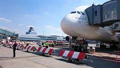 Nejtišším leteckým dopravcem v Praze byl letos Swiss Air