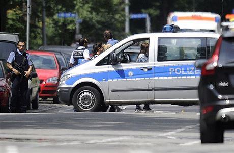 Střelba v německém městě Espelkamp si vyžádala dva mrtvé. Podezřelého zadržela policie