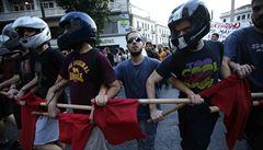 V Aténách demonstrovaly proti úsporám tisíce lidí: 'SYRIZA zradila'