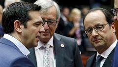 Eurozóna dohodla nové podmínky pomoci Řecku, země dostane až 86 miliard eur