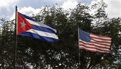 Kubánská zástava vlaje ve Washingtonu, po dlouhých 54 letech