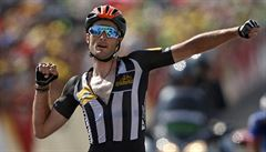 Africká stáj slaví první vítězství v historii Tour. Froome si upevnil náskok