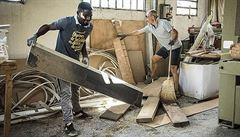 Vděční uprchlíci pomohli Italům po ničivém tornádu: Víme, co znamená všechno ztratit