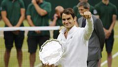 Letos neplakal a končit nechce. 'Za rok zase na viděnou,' vzkázal Federer