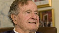 Mandela zemřel, šokoval svět Bush starší smutečním e-mailem
