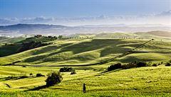 Toskánsko, krajina vínu zaslíbená