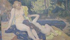 Ukradený Preislerův obraz se po 19 letech vrátil do Národní galerie