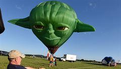 Létající Yoda, panda i velryba. Sto balonů se vzneslo nad New Jersey