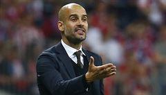 Dohodnuto. Kouč Bayernu Guardiola půjde po sezoně do Manchesteru City
