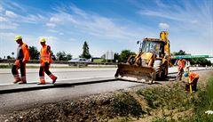 Stavbaři nestíhají, nový povrch na D1 se bude pokládat až na jaře