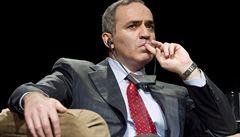 Putin je takový ruský Kaddáfí, říká opoziční lídr Kasparov